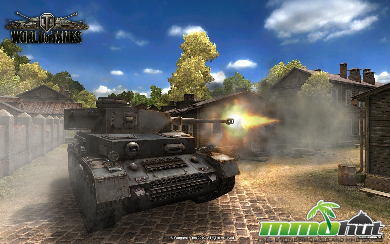 Free to Play WW2 MMOs World of Tanks