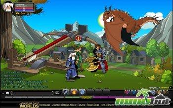 Adventure Quest Worlds Dragon Screenshot