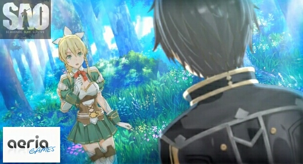 Sword Art Online Cutscene Screenshot