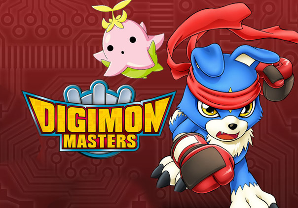 Digimon Masters Online Game Banner