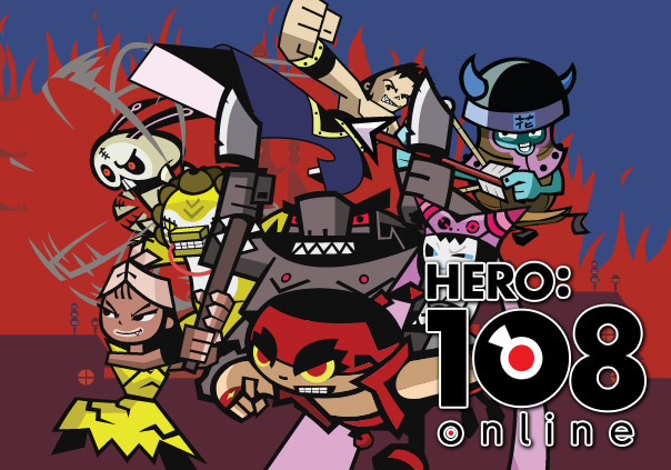 Hero:108 Online Game Profile Banner