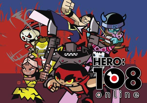 Hero:108 Online Game Profile Banner