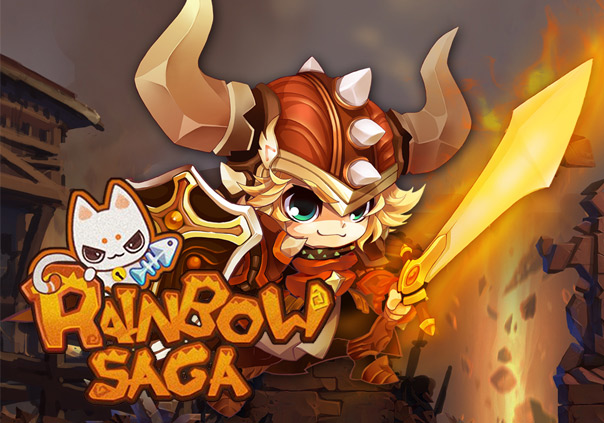 Rainbow Saga Game Profile Banner