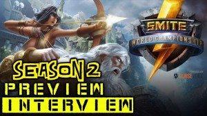 Smite 2015 World Championship Season 2 Preview Interview Video Thumbnail