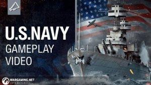 World of Warships: United States Navy Gameplay Video Thumbnail