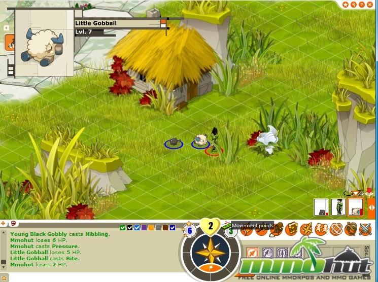Dofus Gameplay Screenshot