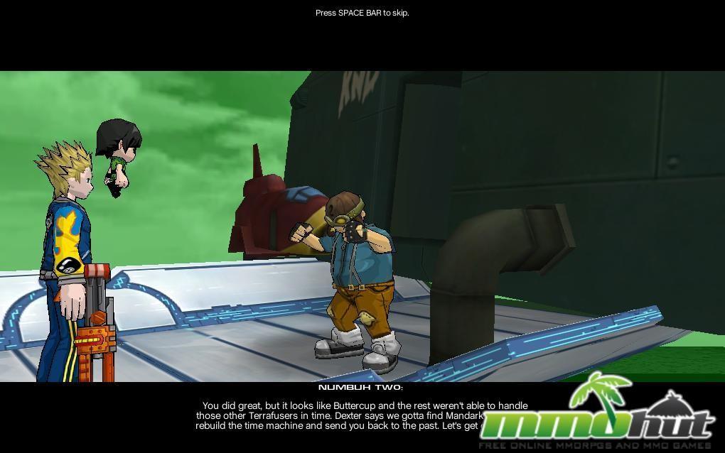 Fusion Fall Cinematic Screenshot