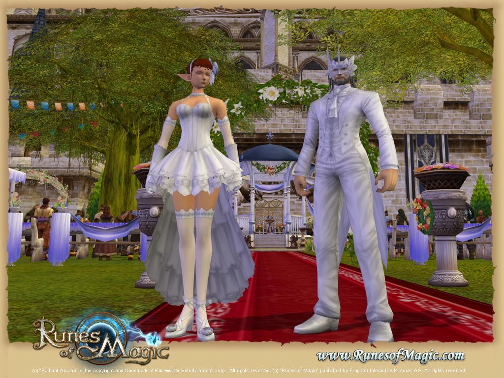 Marriage in MMORPGs Runes of Magic