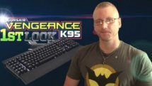 Vengeance K95 MMO Gaming Keyboard - First Look Video THumbnail