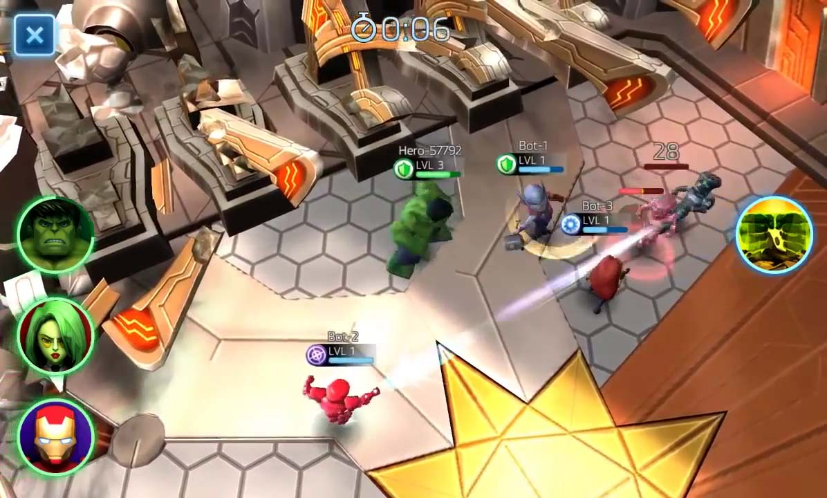 Marvel Mighty Heroes iOS Mobile Review