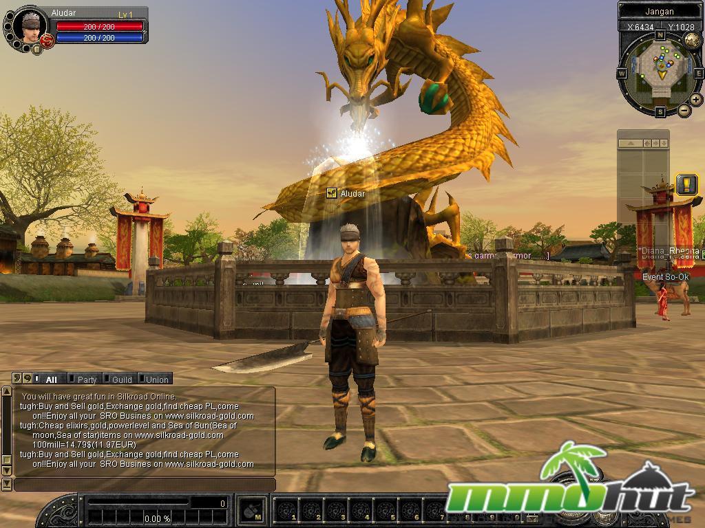 Silkroad Online Review Screenshot