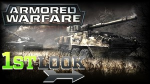 First Look, Armored Warfare, Obsidian Entertainment, Free to play, F2P,