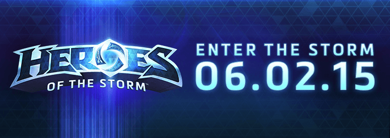 Heroes of the Storm Launches June 2, 2015 Post Header