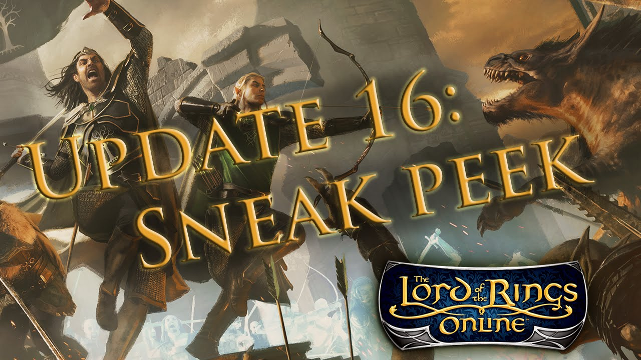 LOTRO Developer Update 16 Sneak Peek Video Thumbnail