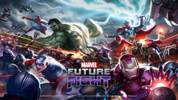 Marvel Future Fight Game Banner