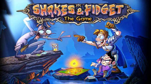 Shakes & Fidget Game Banner