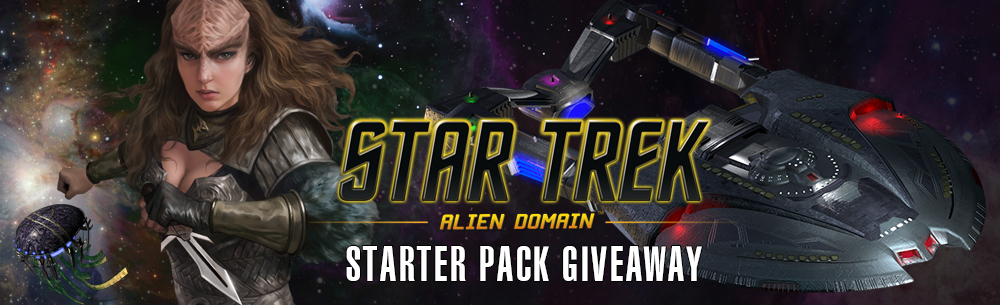 Star Trek Alien Domain Giveaway