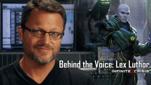 Infinite Crisis Behind the Voice: Steve Blum as Lex Luthor Video Thumbnail