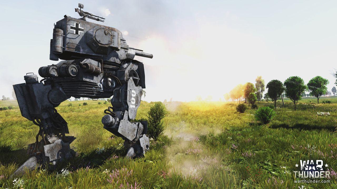 "War Thunder Introduces the ""Walking Tank"" Post Header"