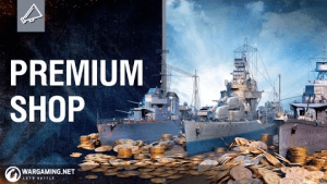 World of Warships Premium Shop Reveal Video THumbnail