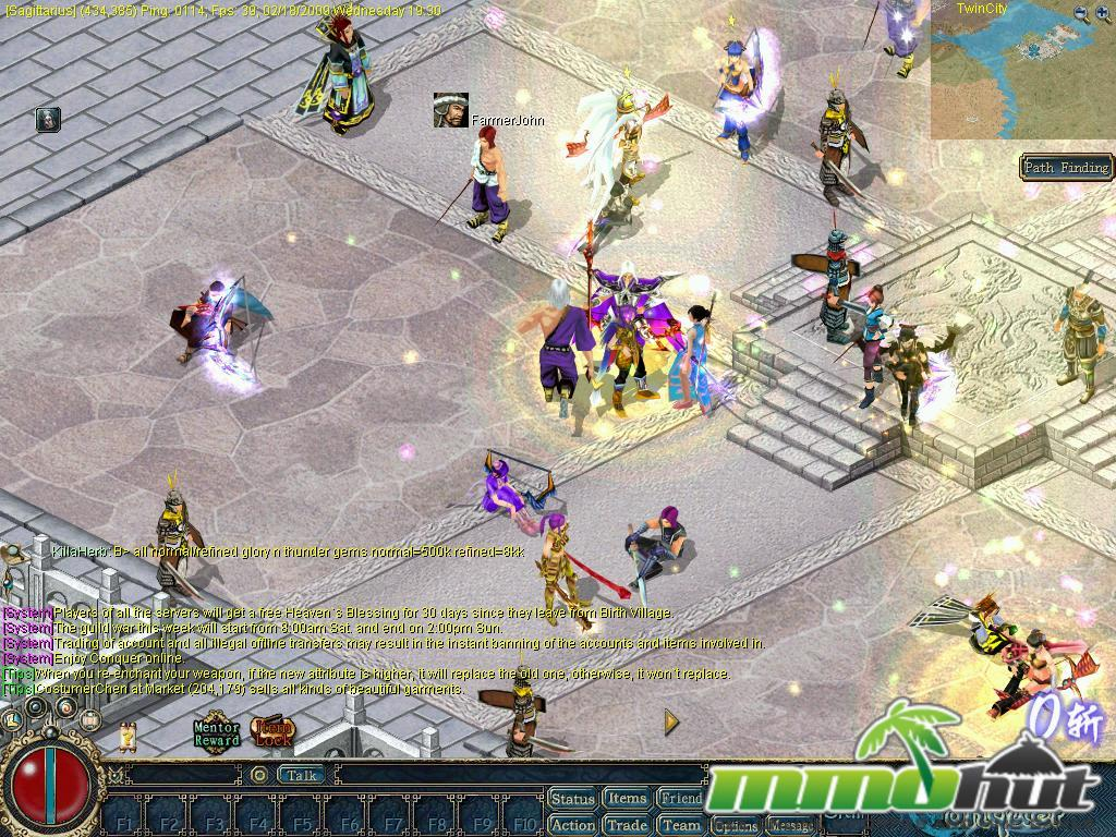 Conquer Online Review Screenshot