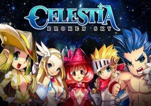Celestia Broken Sky Game Banner