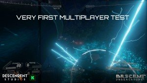 Descent: Underground First Multiplayer Test Video THumbnail