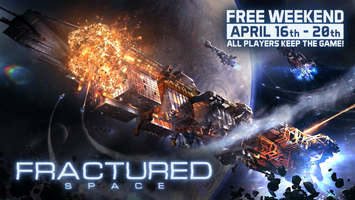 Play Fractured Space for Free This Weekend and Unlock Permanent Access Post Header