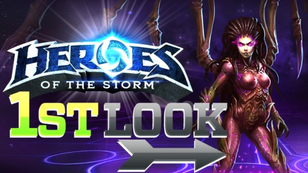 Heroes of the Storm - First Look Video Thumbnail