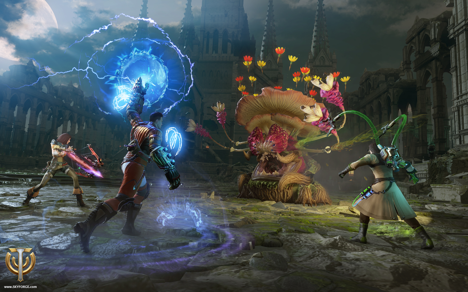 Skyforge Reveals Intense Late-Game Battles Known as Distortions Post Main