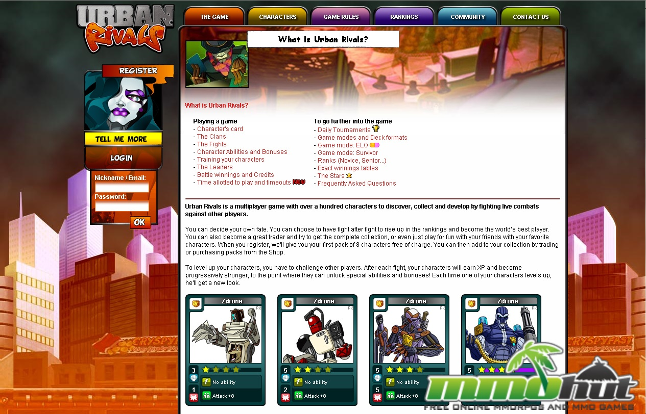 Urban Rivals Review