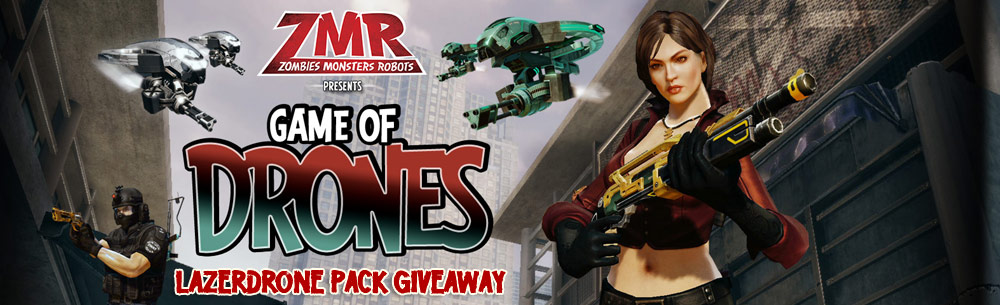 ZMR Lazerdrone Pack Giveaway