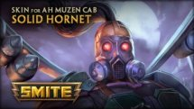 SMITE Solid Hornet Ah Muzen Cab Skin Reveal Video Thumbnail