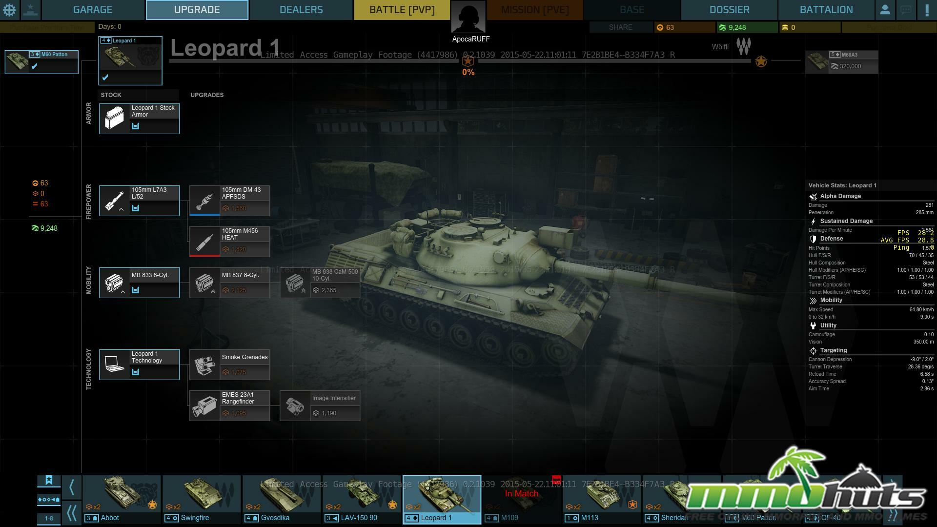 Armored Warfare Early Access Sneak Peak