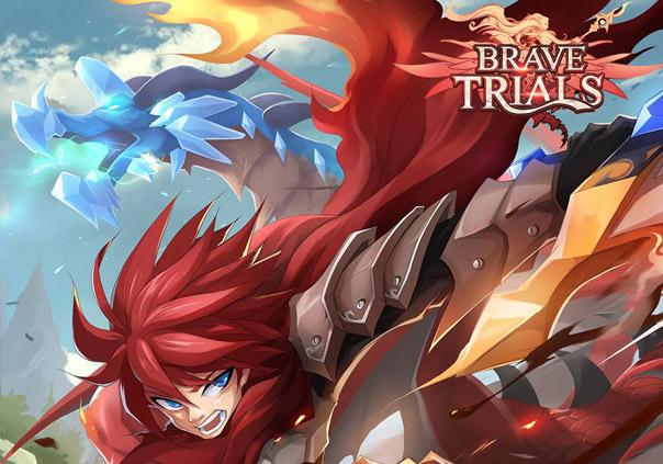 BraveTrials Game Banner