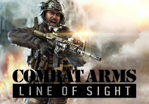 Combat Arm Line of Sight Game Banner