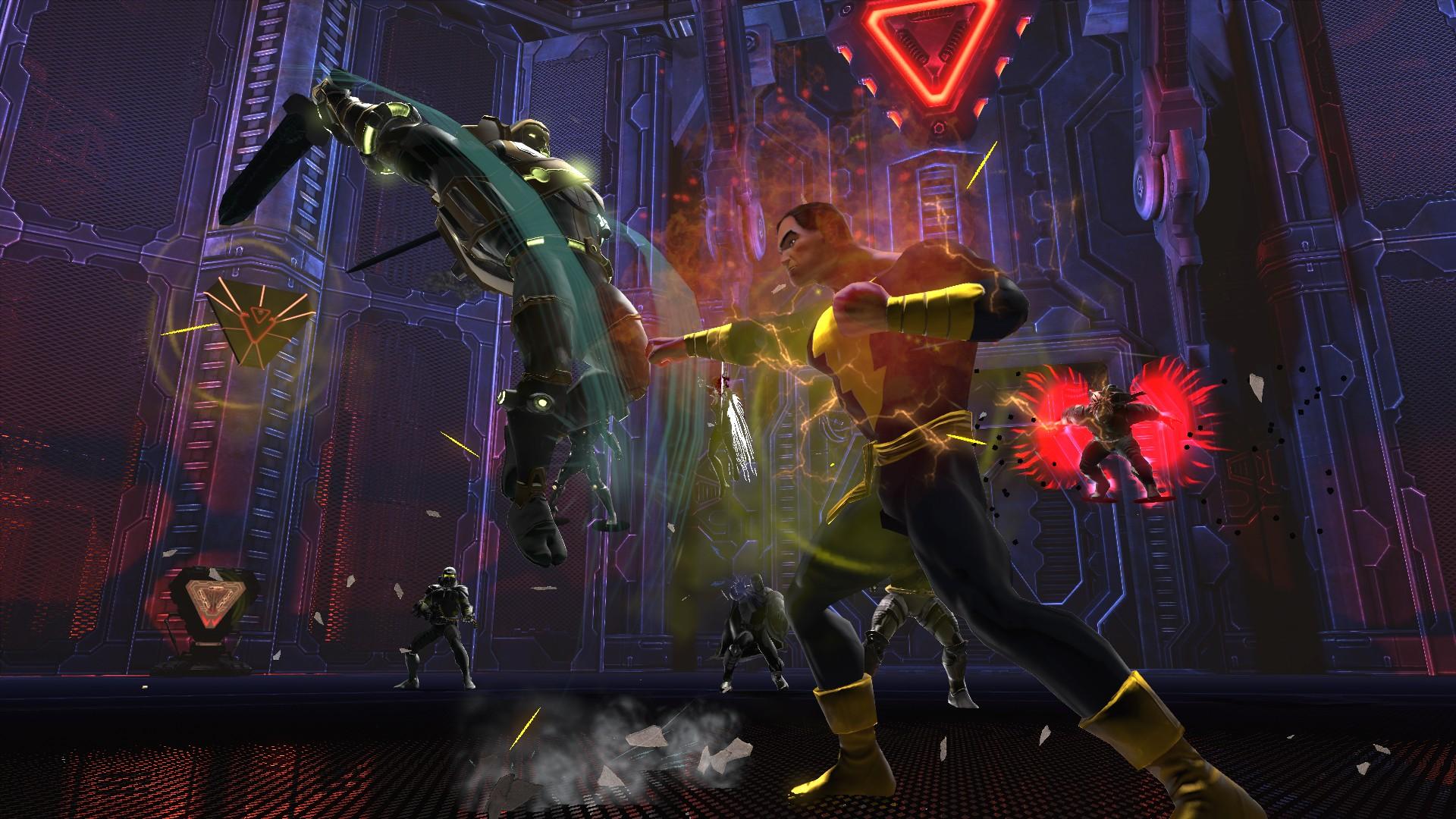 DCUO Halls of Power II DLC Press Overview