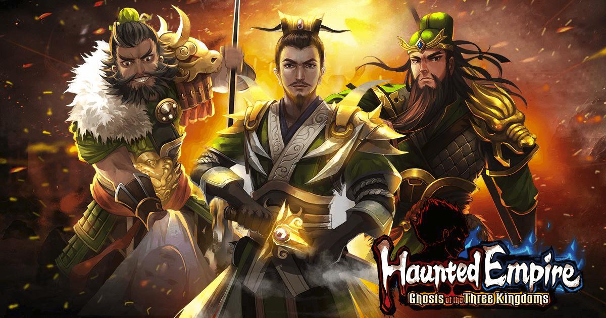 Haunted Empire - Three Kingdoms Launches on iOS Post Header