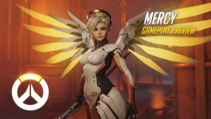 Overwatch: Mercy Gameplay Preview Video Thumbnail