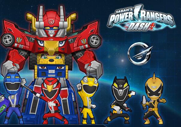 Power Rangers Dash Game Profile Banner