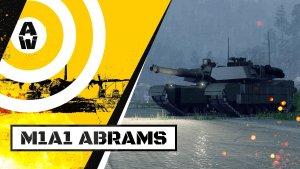 Armored Warfare: M1A1 Abrams Main Battle Tank Trailer Thumbnail