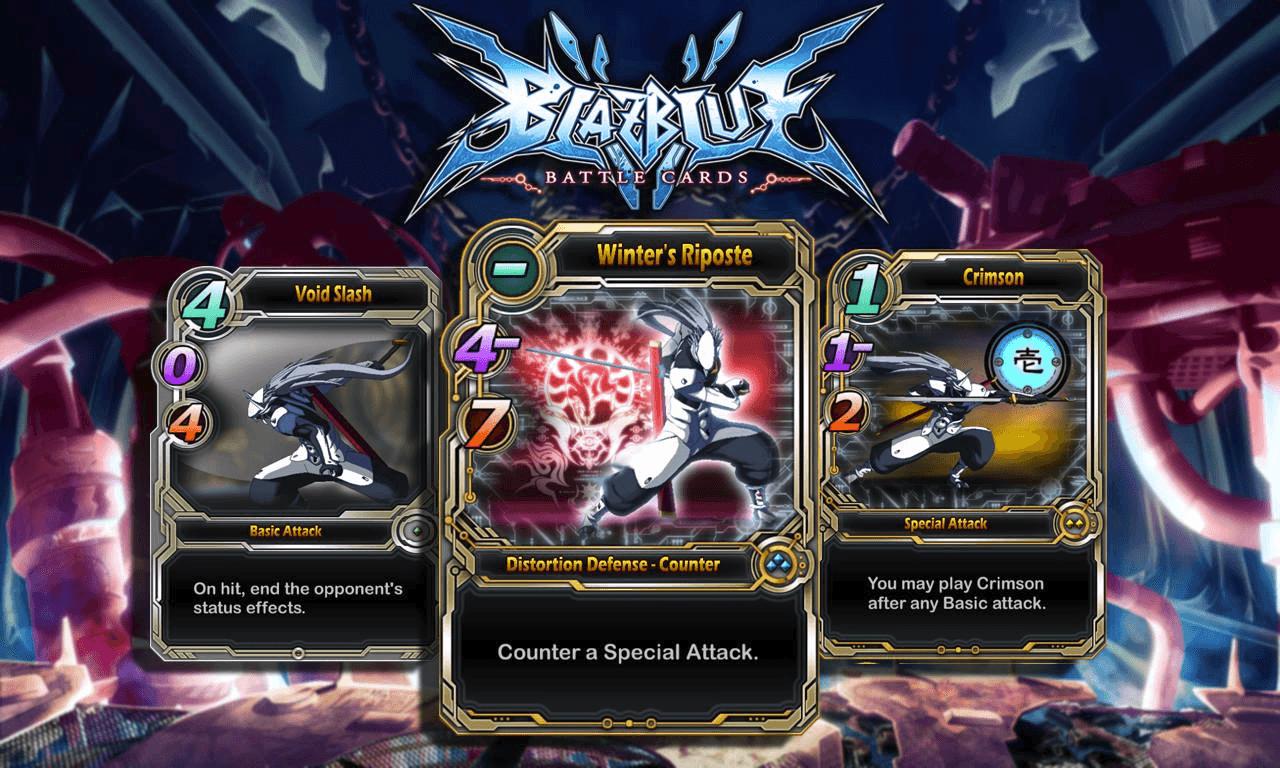 BlazBlue: Battle Cards Mobile Game Released on iPad Post Header