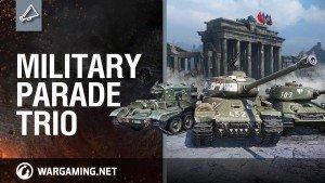 World of Tanks Military Parade Trio Video Thumbnail