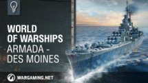 World of Warships Armada - USS Des Moines Video Thumbnail