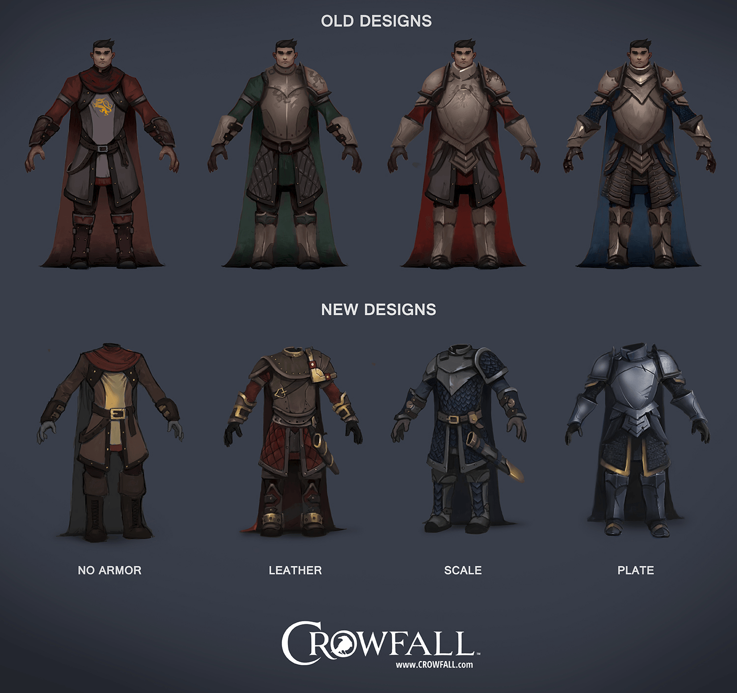 Crowfall Discusses Changes to Armor System news header