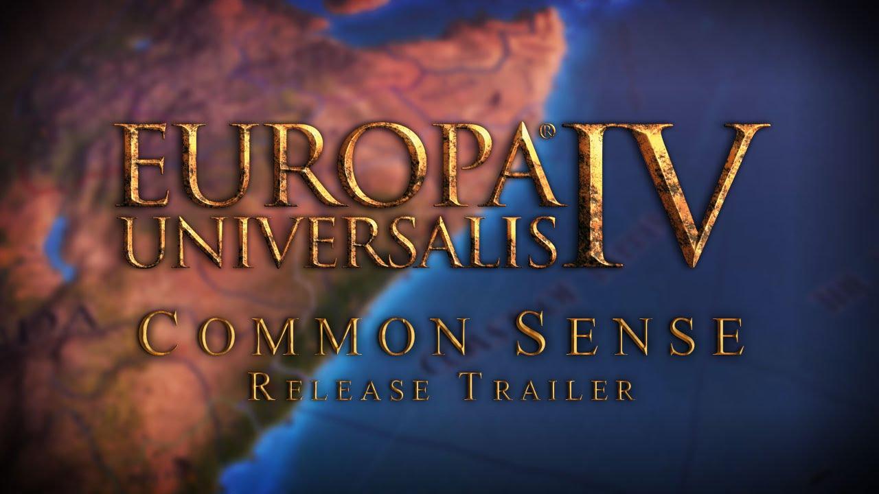 Europa Universalis IV: Common Sense Release Trailer Thumbnail