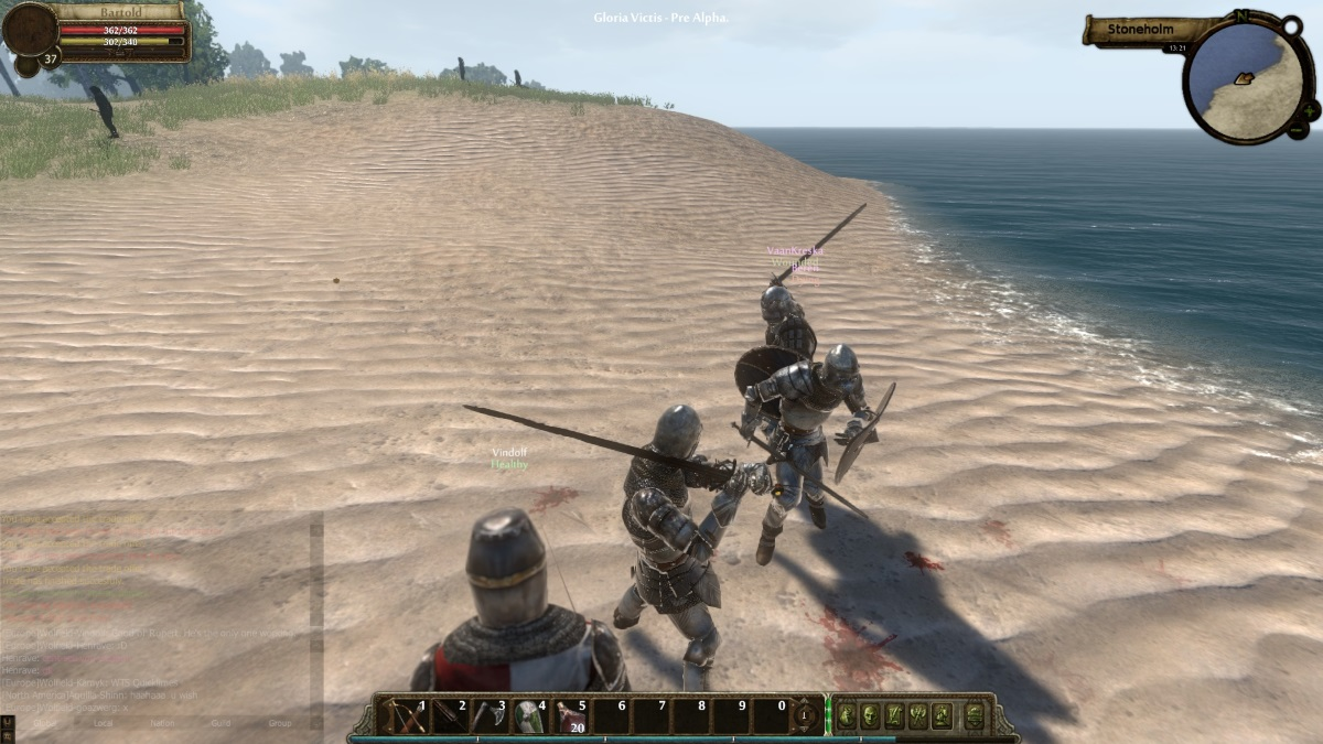 Gloria Victis Adds Achievement System and More news header