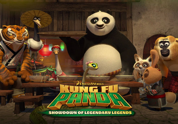 Kung Fu Panda Showdown of Legendary Legends Game Profile Banner