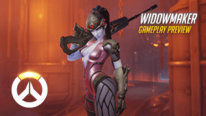 Overwatch: Widowmaker Gameplay Preview Video THumbnail