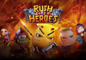 Rush of Heroes Game Profile Banner